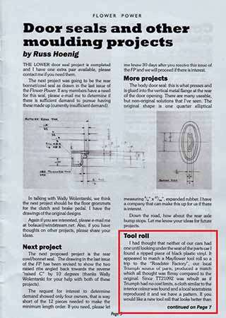 download TRIUMPH MAYFLOWER workshop manual