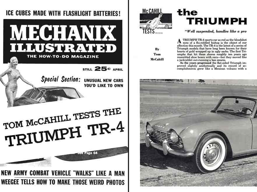 download TRIUMPH TR4 TR 4 workshop manual