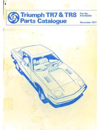download TRIUMPH TR7 TR8 STAG Manuals workshop manual