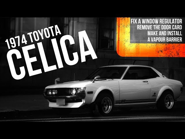 download Toyota Celica workshop manual