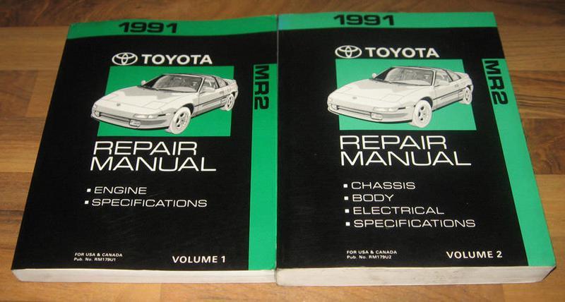 download Toyota MR2 workshop manual