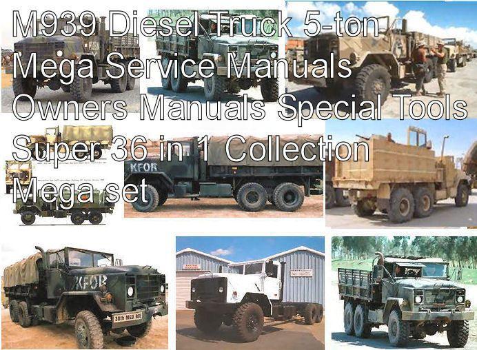 download Truck 5 Ton M939 workshop manual
