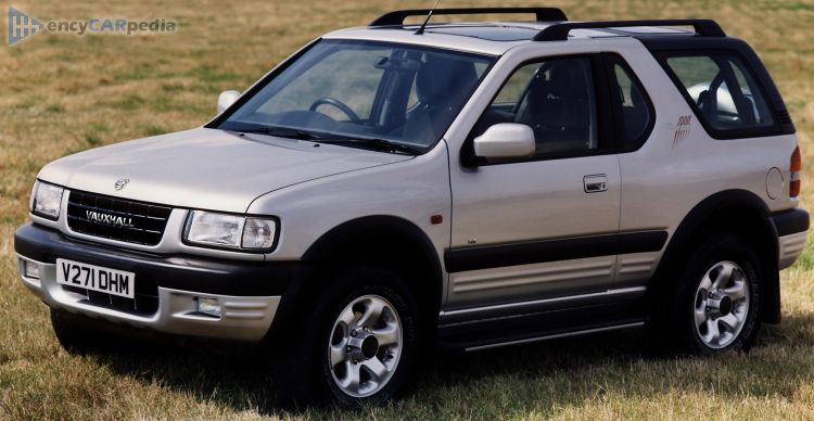 download VAUXHALL OPEL FRONTERA workshop manual