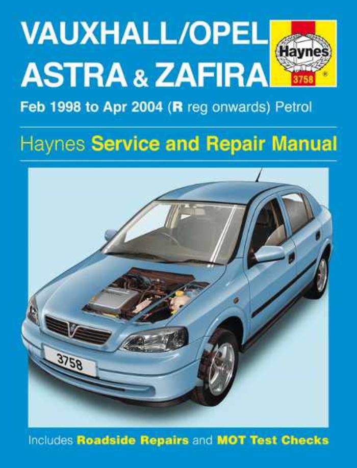 download VAUXHALL ZAFIRA able workshop manual