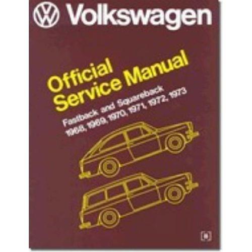 download VOLKSWAGON FASTBACK SQUAREBACK Shop workshop manual