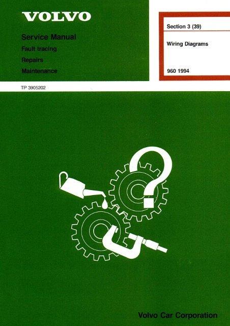 download VOLVO 960 workshop manual