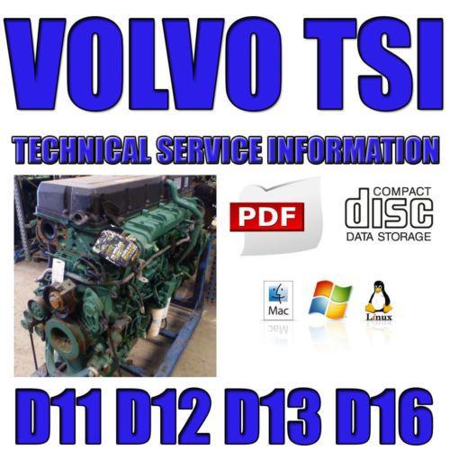 download VOLVO Truck VT VNL D16F s workshop manual