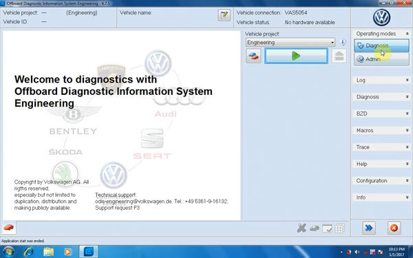 download VW License Key workshop manual