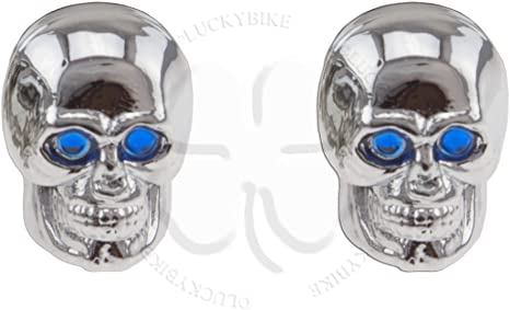 download Valve Stem Caps Chrome Skulls With Glowing Red Eyes 1 Pair workshop manual