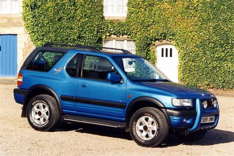 download Vauxhall Frontera workshop manual