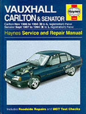 download Vauxhall Senator workshop manual