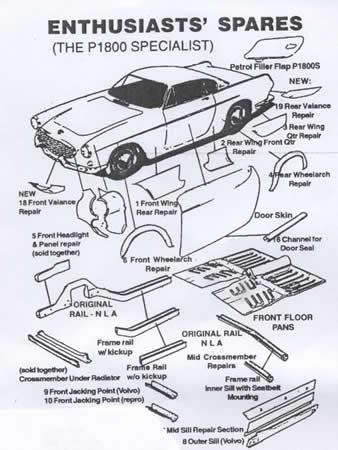 download Volvo P1800 workshop manual