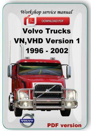 download Volvo Trucks VHD VN workshop manual
