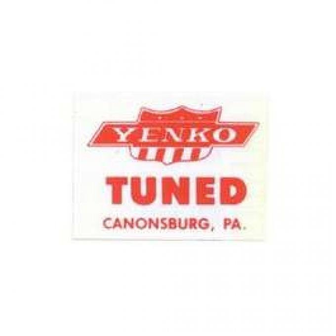 download Window Decal Yenko Tuned workshop manual